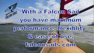 Points of sail demonstration with a Falcon Kayak Sail. Thumbnail