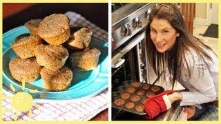 Meg | Raspberry Bran Muffins