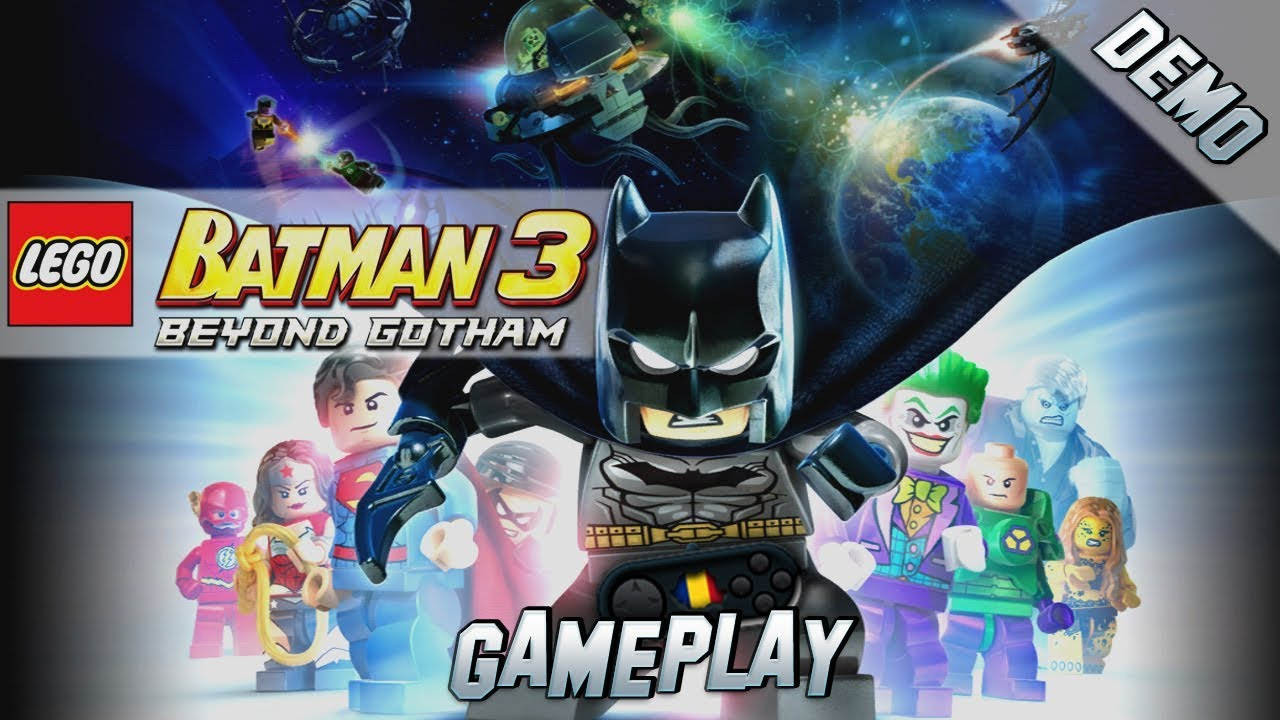 LEGO Batman 3: Beyond Gotham PC Gameplay [Demo] - YouTube