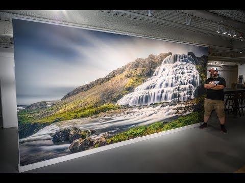Custom Wall Mural Printing Options & Installation