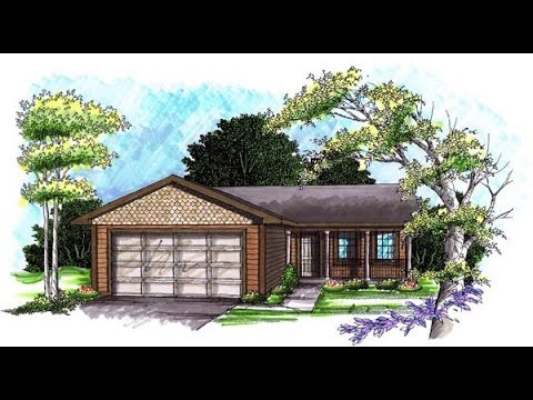 Ranch House Plan 72971 at FamilyHomePlans