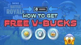How To Get FREE V Bucks - Fortnite Battle Royale - Free Skins & V-Bucks
