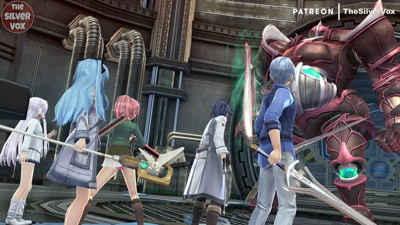Trails of Cold Steel III Mods - Tio & Altina Skin Color Stocking - Heavy Ruby Boss Battle