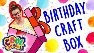 Get Crafting With Crafty Carol for Your Birthday! | Cool School Birthday Craft Box!