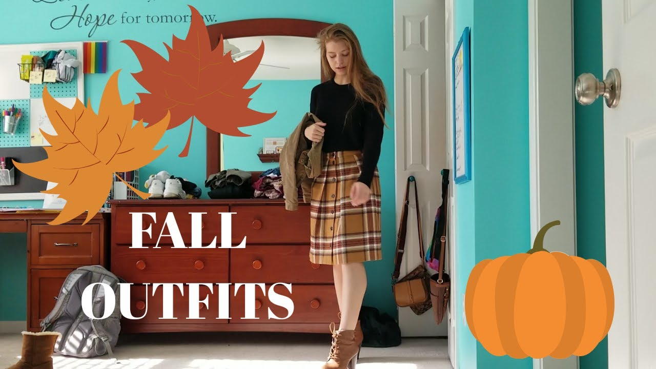 [VIDEO] - Fall Outfits || LOOKBOOK 1