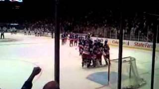 New York Rangers Win against LA Kings in Shootout - 2/17/2011