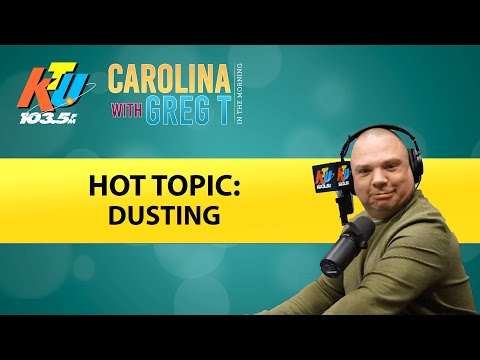 Carolina With Greg T In The Morning Show - Greg T Got 'Dusted' By Producer Colleen