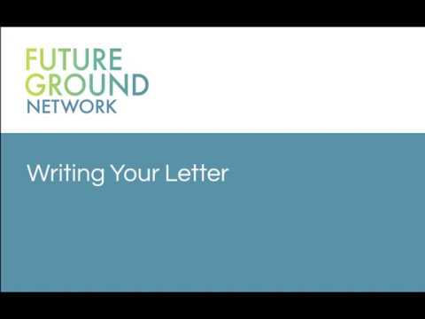 3. Writing Your Letter