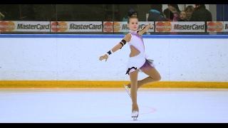 Елизавета Ищенко (Тольятти) 1 сп разряд Произвольная программа