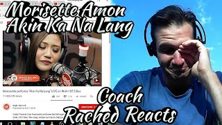 Tearful Coach Reaction - Morissette Amon - Akin Ka Na Lang