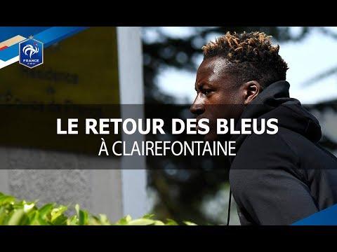 Les Bleus de retour à Clairefontaine