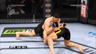 EA Sports UFC Bruce Lee Gameplay PS4 HD 1080p