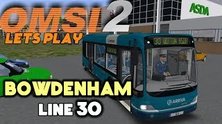 OMSI 2 Let's Play #16 | Mercedes-Benz Cito | Bowdenham: Line 30