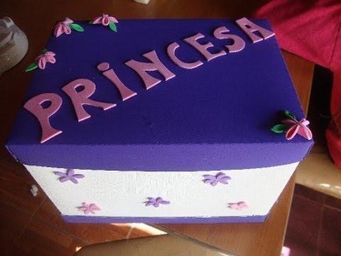 Cajas Decorativas En Foami
