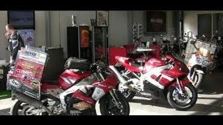 Clymer Manuals Sjaak Yamaha R1 Polar Ice Ride Motorcycle Adventure Video #2 Receiving Yamaha R1