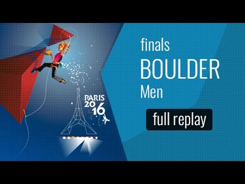 IFSC World Championships Paris 2016 - Finals - Men Boulderin