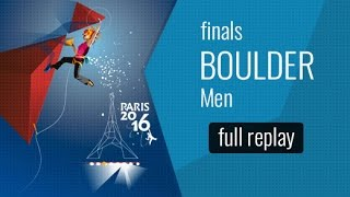 IFSC World Championships Paris 2016 - Finals - Men Bouldering & Paraclimbing B1(Watch the full replay of the Men Bouldering and Men Paraclimbing B1 Finals in Paris. All the information about the event on: Climbing: ..., 2016-09-17T19:11:49.000Z)