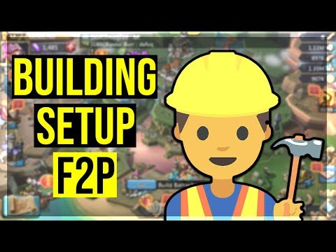 Lord's Mobile: Building Setup For A F2P!