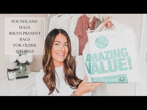 POUNDLAND HAUL | SEPTEMBER | PRESENTS FOR OLDER SIBLINGS
