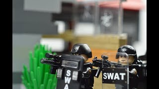 LEGO SWAT lego swat   lego Bank robbery