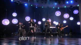 Big Time Rush -Music Sounds Better with U on ELLEN SHOW