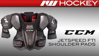 CCM JetSpeed FT1 Shoulder Pad Review