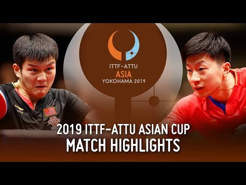 Ma Long Vs Fan Zhendong | 2019 ITTF-ATTU Asian Cup (Final)