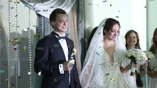Потрясающе красивая свадьба в Оренбурге 2017