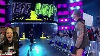 WWE Smackdown Shakeup 4/17/18 Jeff Hardy to Smackdown