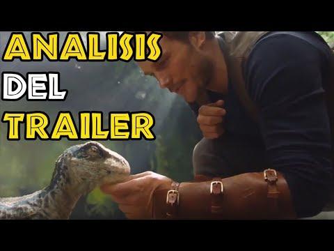Analizando el Teaser Trailer de Jurassic World Fallen Kingdom en directo!