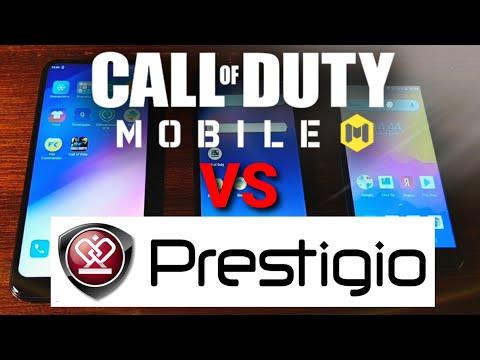 PRESTIGIO S MAX, X PRO, V3 LTE - Call Of Duty Mobile GAME TEST