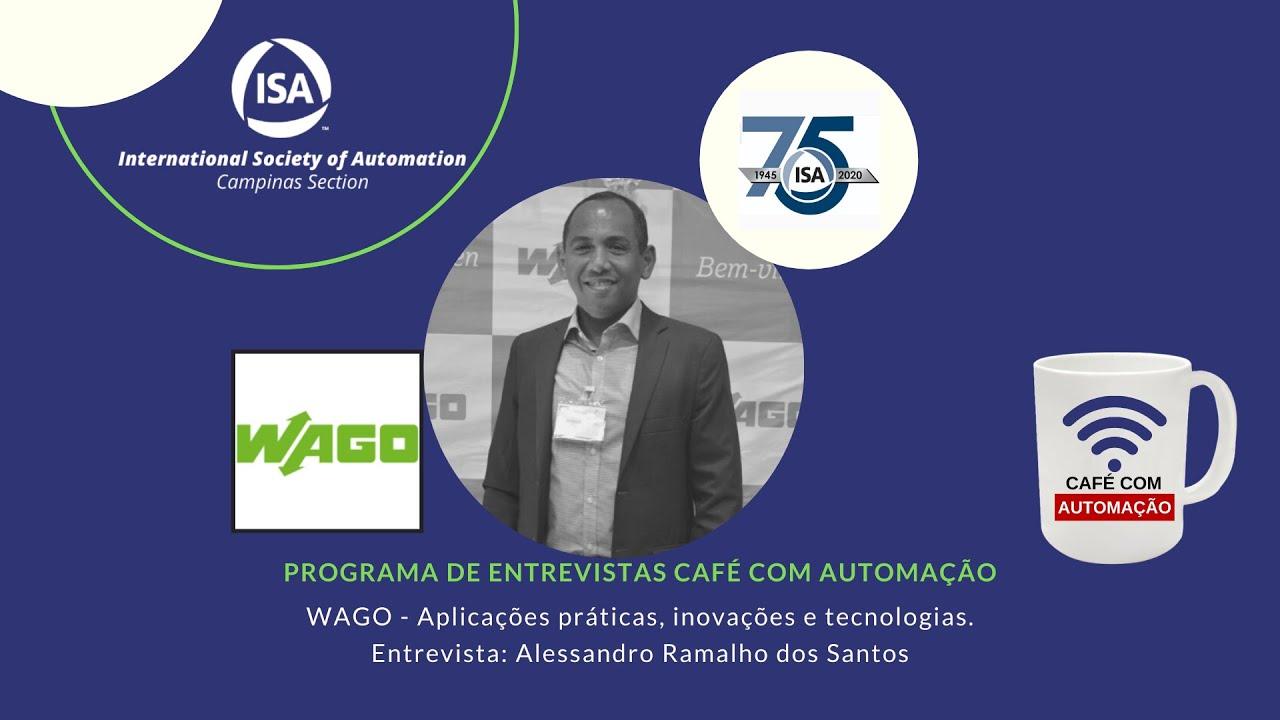 Café Com Automação - Alessandro Santos - Wago