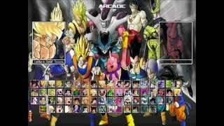 Dragon Ball Z Raging Blast 2 MUGEN