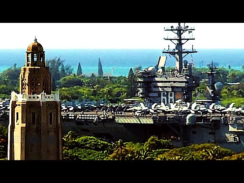 Legendary SUPERCARRIER USS NIMITZ departs Joint Base Pearl Harbor-Hickam!