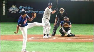 【神業!】斎藤明雄が背面投げを披露!@サントリードリームマッチ7月29日