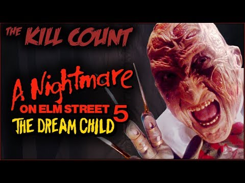 A Nightmare on Elm Street 5: The Dream Child (1989) KILL COUNT