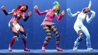 Fortnite 75 Costumes Perform Freestylin' Dance Emote