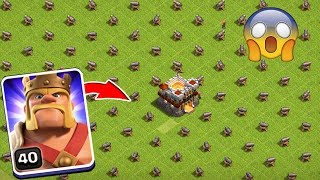 Max King Vs Full Base Cannon Attack On COC Private Server Funny Gameplay