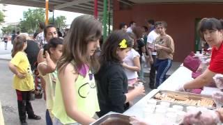 Festa de suport a la nena amb leucèmia de l