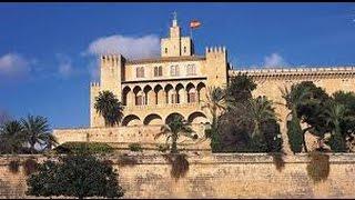 ALMUDAINA Royal Palace Palau de L'Almudaina Mallorca 4K