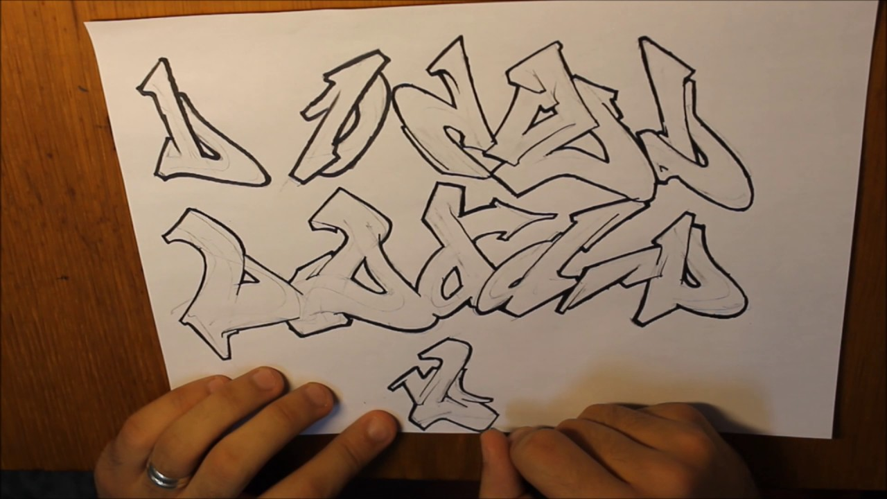 Graffiti letter d wildstyle tutorial youtube graffiti letter d wildstyle tutorial thecheapjerseys Choice Image