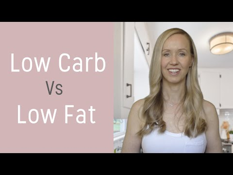 Low Carb Vs Low Fat Diet | What's The Right Choice for Busy Women