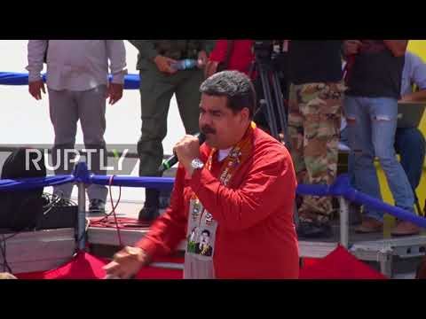 Venezuela: 'The President is Nicolas Maduro' - Maduro to rally ahead of May election