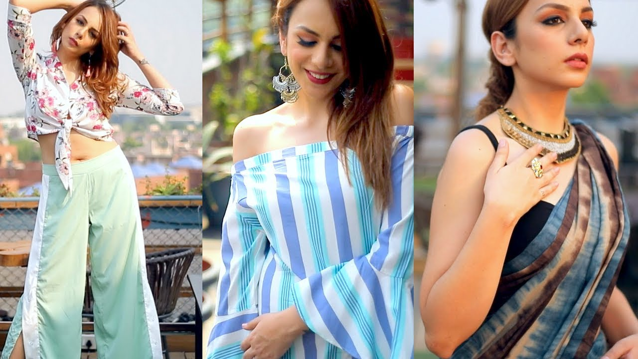 [VIDEO] - SUMMER OUTFITS TO BEAT THE HEAT! | Nitibha Kaul 2