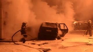 Пожар на АЗС в Одессе