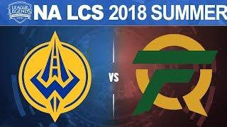 GGS vs FLY - NA LCS 2018 Summer Split W9D1 - Golden Guardians vs FlyQuest