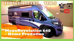 MEGAMOBIL Kastenwagen | MegaRevolution 640 | Roomtour Ferngesteuert