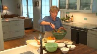 Chicken Sausage, Butternut Squash, And Wild Mushroom Stuffing - Sara Foster
