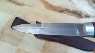 нож дамаск ''форель'' от русского булата