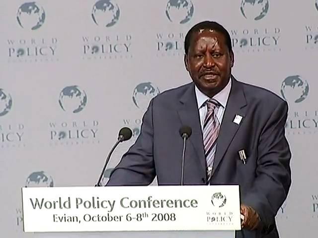 Raila Amolo Odinga - Plenary Sessioin Part 2